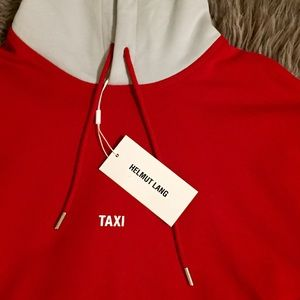 NEW Helmut Lang Limited Edition Taxi Hoodie